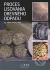 Proces lisovania drevného odpadu