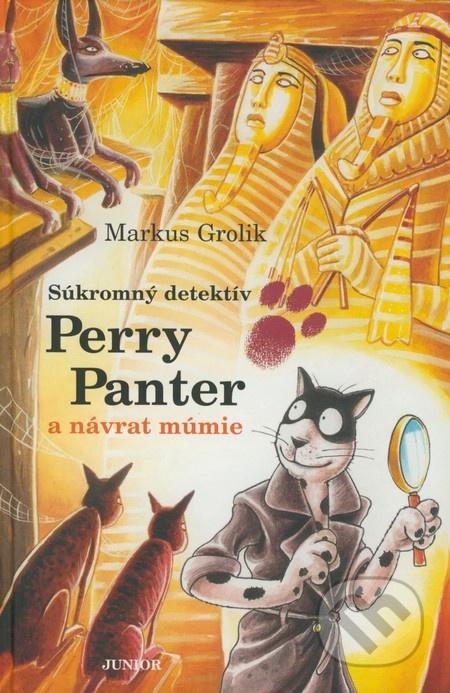 Súkromný detektív Perry Panter a návrat múmie