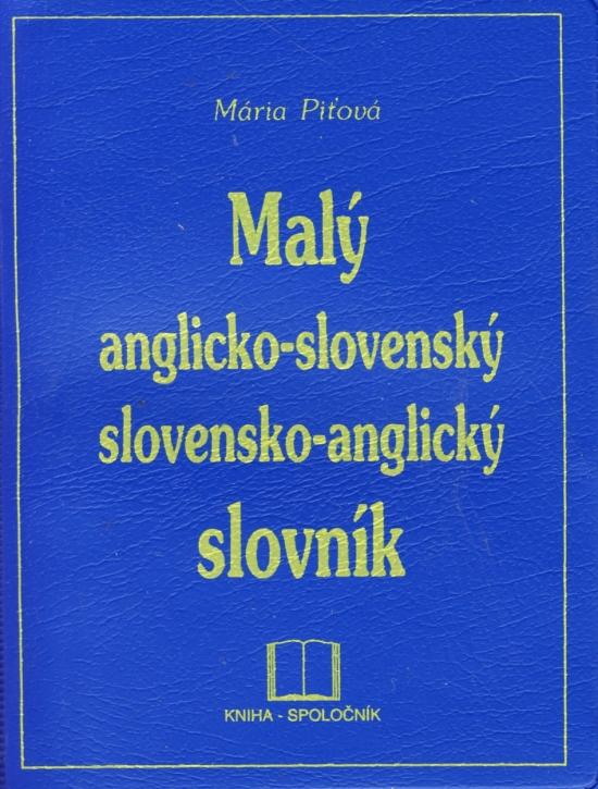 Malý anglicko-slovenský a slovensko-anglický slovník